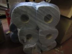 6x Large Roll of Embossed Blue Tissue Paper (150m x 170mm) - Unused & Packaged
