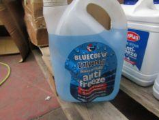 Bluecol - Universal Anti-Freeze - 2 Litres - Unused.