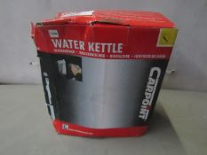 Portable Water Kettle 120w - Unchecked & Boxed.