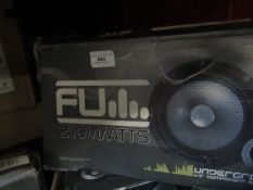 """Fu - 210 Watt 6.5"""" Component Speakers - Unchecked & Boxed."""
