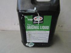2x Turtle Wax - Original Liquid - 5 Litres - Sealed.