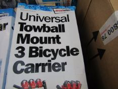 Streetwize - Towball Mount 3 Bicycle Carrier (Universal) - Unchecked & Boxed.