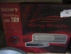 Sony - CDX-T69 Compact Disc Changer - Unchecked & Boxed.