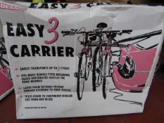 Desmo - Easy 3 Carrier (Safely Transports up to 3 Bicycles) - Unchecked & Boxed.