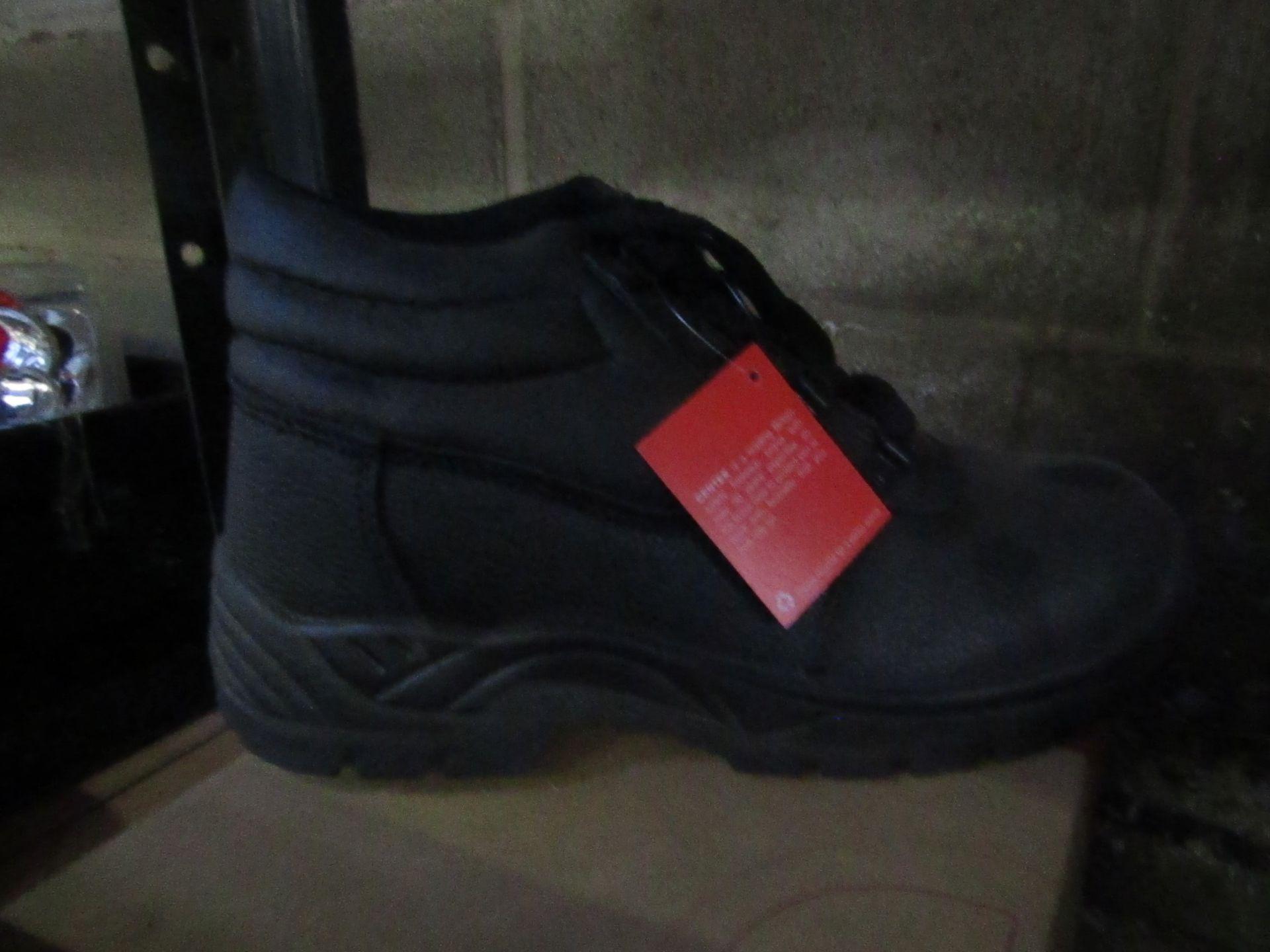Centek - Black Steel Toe Cap Boot - Size 9 - New & Boxed.
