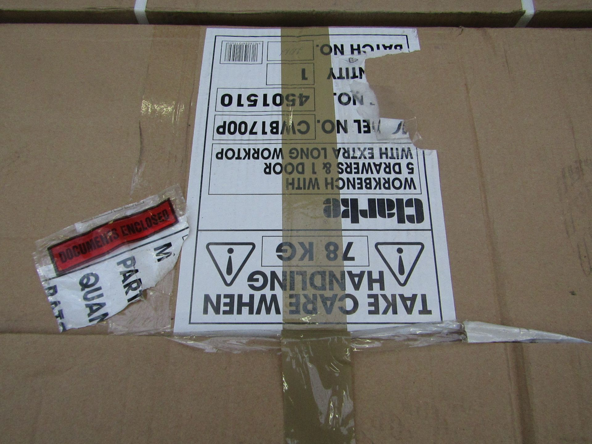 1x CL BENCH 5DR 1DOOR 9295, This lot is a Machine Mart product which is raw and Completely unchecked