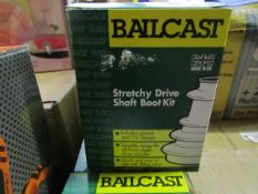 Bailcast - Universal CV Boots - Unchecked & Boxed.