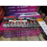 MLG Tools - 1/2 Sleeve Socket ChromeVanadium - All New & Boxed.