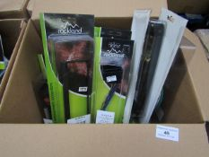 Box of Approx 10 Items From Rockland - Car Harness Adapter Leads Various Different Car Models -