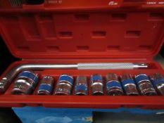 GS MIG Tools - 10 Piece 1/2 Socket Wrench Set ChromeVanadium - All New & Boxed.
