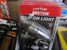 Dekton - Clip-On Light - New & Packaged.