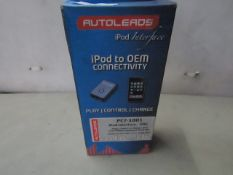 AutoLeads - Ipod to OEM Connectivity - Ipod Interface - Unchecked & Boxed.