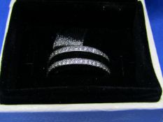 Pandora Flip Ring size 52, new in presentation box