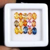 Natural Sapphires - 4.10 carats - 15 pieces - Average retail value £1,698.97