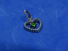 Pandora Birthstone necklace pendant, new with presentation bag.