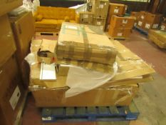 | 1X | PALLET OF TUTTI BAMBINI B.E.R FURNITURE WHICH INCLUDES A COT BED AND A CHEST CHANGER | ALL