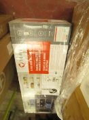 Trinity 6 tier wire shelving rack, unchecked and boxed
