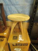 | 1X | SWOON OSCAR WOODEN SIDE TABLE | UNCHECKED AND BOXED | RRP £99 |