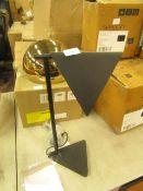 | 1X | KIRI TABLE LAMP IN BLACK | UNCHECKED | RRP £89 |