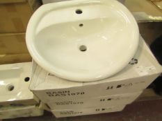 Bathroom Basin - new & Boxed