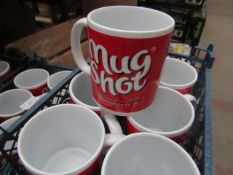"36x ""Mug Shot"" Mug's - Unused."