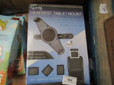 Gone Driving - Hardrest Tablet Mount - Unchecked & Boxed.