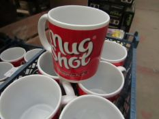 "43x ""Mug Shot"" Mug's - Unused."