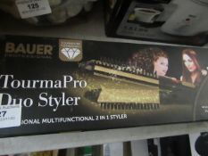 Bauer - Professional Multifunctional 2 in 1 Styler - Untested & Boxed.