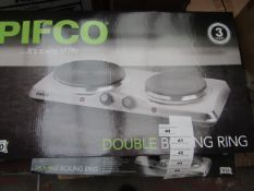 Pifco - Double Boiling Ring - Unchecked & Boxed.