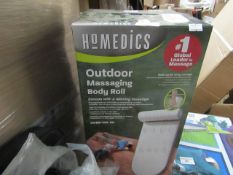 Homedics - Outdoor Massaging Body Roll - Unchecked & Boxed.