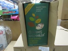 5x Dorset Cereals - Organic Muesli (Toasted Flakes Raisins & Brazils - All Unused & Boxed.