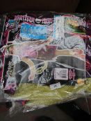12x Monster High - Scaris City of Freights JinaFire Long Children's Costume - Unchecked & Packaged.