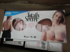 2x JML - Totally Secret Enhancing Invisable Bra - New & Boxed.