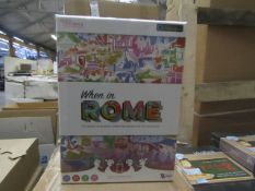 10x Voice Originals - 'When In Rome' Travel Trivia Question Game - All Unused & Boxed.