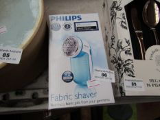 Philips - Fabric Shaver - Untested & Boxed.
