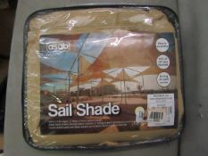 Asab - Sail Shade Beige - Diamensions Unknown - Unused & Packaged.