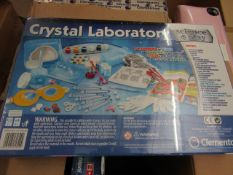 Clementoni Crystal Laboratory. Make your own Crystals - Unused & Packaged.