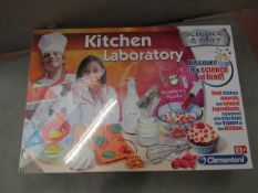 Science and Play Kithen Laboratory set. Still sealed.
