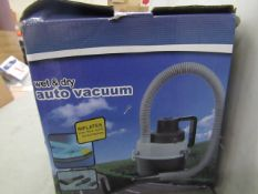 Wet & Dry Auto Vacuum - Unchecked & Boxed.