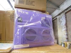 4x Ihome - Bluetooth Wireless Rechargeable Stereo Speaker - unchecked & Boxed