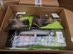 Box of Approx 5 Various Items From Rockland : Facia Panels, Car Harness Adapters - All Unused &