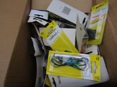 Box of Approx 30+ Automative Accessories From : Rocker Switches, Blade Fuses, Filter Seperater's -