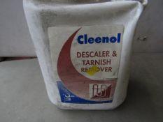 2x Cleenol - Descaler & Tarnish Remover (5 Litre) - Unused.
