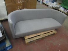 | 1x | SWOON 2 SEATER SOFA | HAS NO FEET,NEEDS A CLEAN AND THE BACK CUSHIONS ARE MISSING |