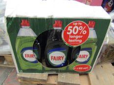 6x 900ml Fairy - Original Dish Soap - Unused & Boxed.