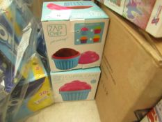 2x Cuppa Cakes - Microwave Cupcake Maker - New & Boxed..