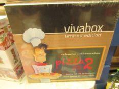 10x Vivabox - Stainless Steel Pizza Slicers - Unused & Packaged.