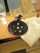 4x Soap dishes, new and boxed.