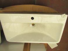 Victoria Plumb BASF02 furniture basin, new and boxed.