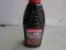 5x CarLube - Semi-synthetic 10w/30 Turbo Diesel (1 Litre) - All Sealed.